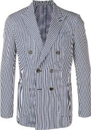 Jacket With Striped Embroidery