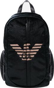 Logo Cotton Backpack