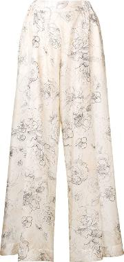 Edvige Silk Trousers
