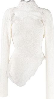 Lace Hinghneck Sweater