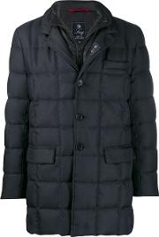 Long Down Jacket With High Neck