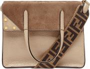Fendi Flip Leather Shoulder Bag