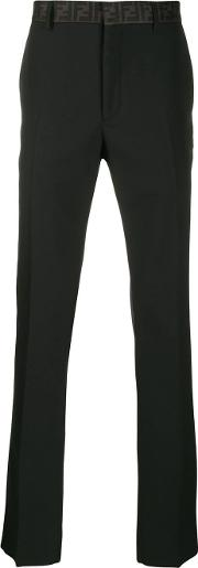 Logo Wool Trousers