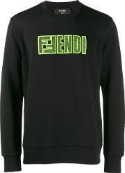 Sweatshirt Over Wording Fendi