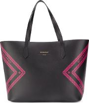 Wing Leather Shopping Bag