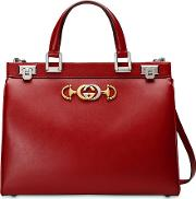 Gucci Zumi Large Leather Handbag