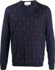 V Necked Wool Jumper
