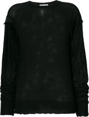 Longlseeve Fray Sweater