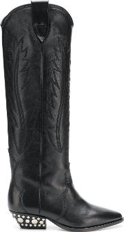 Dinzi Leather Boots
