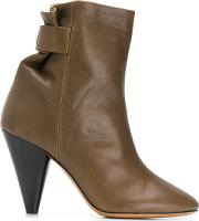 Lystal Leather Boots