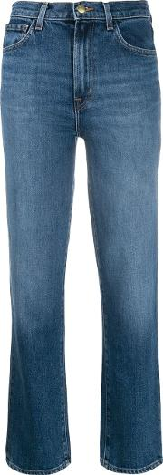 High Rise Straight Jules Jeans