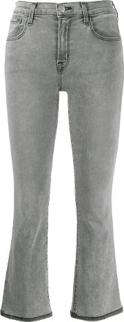 Mid Rise Crop Boot Selena Jeans