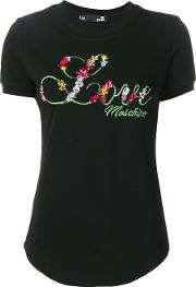 Love Embroidery T Shirt