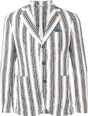 Striped Embroidery Jacket