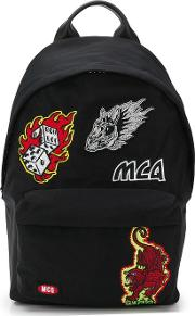 Classic Backpack With Patch