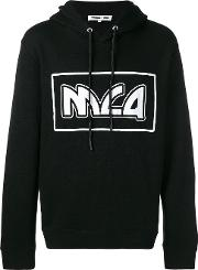 Logo Printed Hooded Sweatshirt