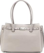 Addison Large Leather Tote Bag
