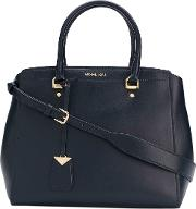 Benning Large Leather Satchel Bag