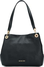Raven Leather Tote Bag
