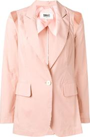 Jacket With Shoulder Cuts
