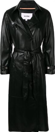 Chiara Vegan Leather Coat
