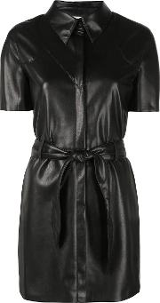 Roberta Vegan Leather Dress
