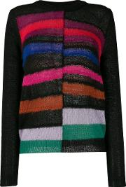 Roundneck Striped Sweater