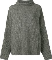 Wool Cropped Sweater