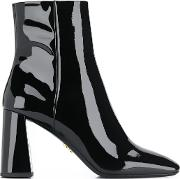 Patente Leather Ankle Boots