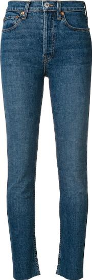 High Rise Cropped Jeans