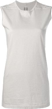 Level Sleeveless Top With Rivet