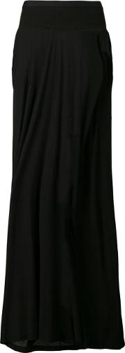 Long Skirt With Side Gaps