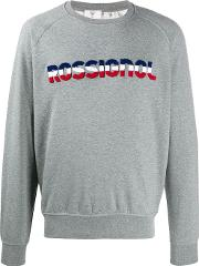 Cotton Logo Print Jumper