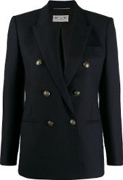 Double Breasted Jacket In Wool