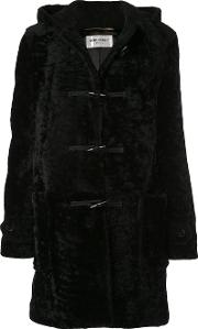 Long Coat In Leather