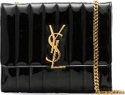 Vicky Leather Chain Wallet