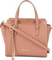 Amy Small Leather Shopping Bag