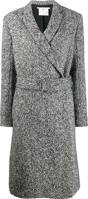 Salt & Pepper Wool Coat