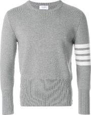 Sweater With 4 Band Print
