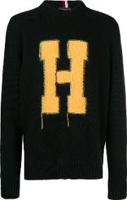 Sweater With H Letter