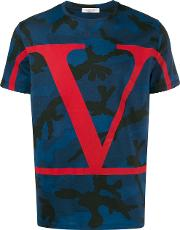 Cotton T Shirt With Logo