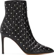 Spike Leather Boots