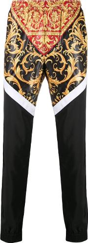 Printed Tracksuit Trousers