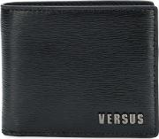 Logo Print Leather Wallet