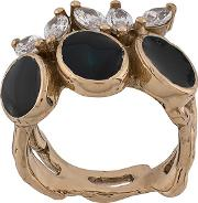Black Laurel Ring