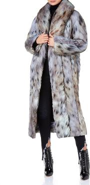 Women& 39 S Designer Coats Puffer Coat With Lynx Print The Box Boutique Bevza