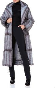 Women& 39 S Designer Coats Puffer Coat With Mink Print The Box Boutique Bevza