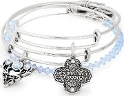 Rafaelian Silver Expecto Patronum Bangle Set As18hp41rs