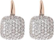 Ladies Altissima Square Cubic Zirconia Dropper Earrings Wsbz00615.wr