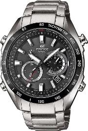 Edifice Mens Stainless Steel Watch Eqw T620db 1aer